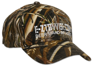 One size fits many E-ZTower Camo Hat